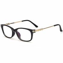 Armação Óculos De Grau Acetato Quadrado Feminino Ua