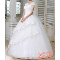 Lindo Vestido Noiva Casamento Debutante Pronta Entrega