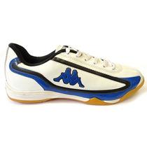 Chuteira Futsal K-scr Kappa (25) - Branco/azul