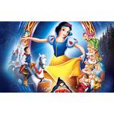 Branca De Neve Painel Decorativo Para Festas 1x1,65