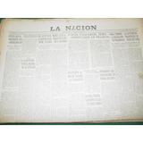 Diario La Nacion 21/1/54 Peron Recibe Gran Cruz Italiana