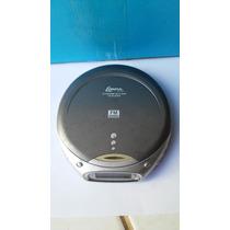 Discman Lenoxx Cd Player Portátil Com Memoria Anti-choque