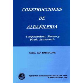 Libro: Construcciones De Albañilería. Comportamiento...- Pdf