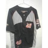 Camisa De Béisbol De Los Tigres De Aragua Talla 18