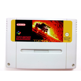 Top Gear 2 - Super Nintendo / Famicom + Frete Grátis