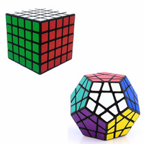 Kit Cubo Mágico Megaminx + 5x5x5 Shengshou