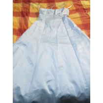 Vestido De Fiesta Largo Liz Minelli Azul Cielo Talla 9 Red
