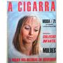 B2225 A Cigarra Outubro 1970 Com Suplemento De Moldes Em P