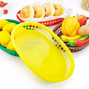 Canasta De Plastico Foodservice Baskets Oferta !!!