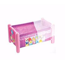 Berço Para Boneca 60 Cm Princesas Disney Mosquiteiro Líder