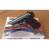 Pistola Airsoft Full Metal!! A Balines Bbs Oferta!!