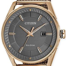 Citizen Caballero Bm6983-51h Wr100 Eco Drive Cristal Mineral