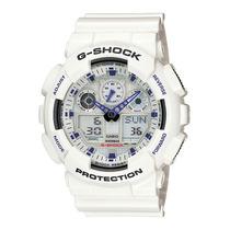 Relogio Casio G-shock Ga 100a-7adr - 100% Original Esportivo