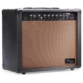 Amplificador Stagg 40-aa-r-eu 40w 10