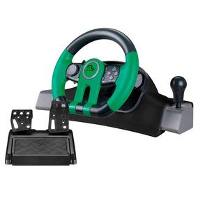 Volante 2 Em 1 Xbox One Pc Com Marcha Multilaser Js077