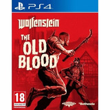 Juego De Ps4 Wolfenstein: The Old Blood Físico Original