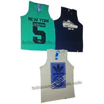 Musculosas Adidas Originals Entrenamiento Algodon