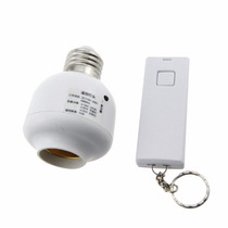 Socket Con Control Remoto Encendido / Apagado 10 Metros