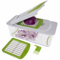 Picador Y Rallador 7 En 1 Vegetales Frutas Freshware Kt-406