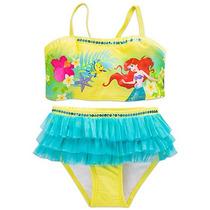 Traje De Baño Ariel Niña Disney Store Bikini La Sirenita
