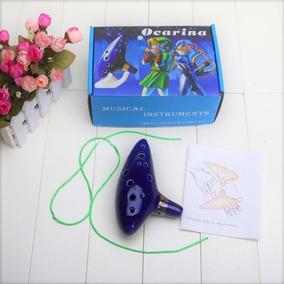 Ocarina De Cerámica Zelda 12 Agujeros, Musica, Lullaby