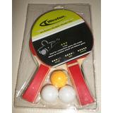 Ping Pong Set De Raquetas De Ping Pong Con Pelotas Y Malla