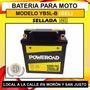 Bateria De Gel Para Motos Yb5l-b Fz16 Rouser 135 Motos 110