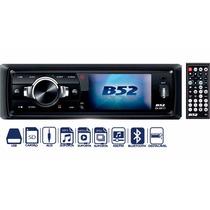 Stereo B52 Dvd Pantalla 3 Pulgad Bluetooth Usb Sd Aux Dv8617