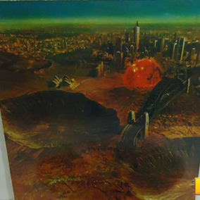 Midnight Oil 1984 Red Sails In The Sunset Lp Com Encarte