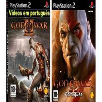 God Of War 1 E 2 Legenda Em Português Patch Ps2 Desbloqueado