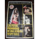 Afiche Cine Las Fotos Prohibidas De Una Señora Respetable It