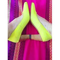 Stilettos De Gamuza. Varios Colores - Zapatos Bajos! Nuevos