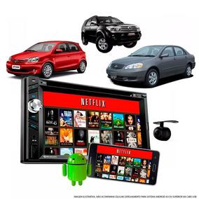 Multimidia Toyota Etios Corolla Hilux Espelhamento Dvd Tv