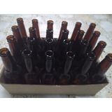Botella Cerveza Artesanal Ambar Con Ficha 355ml Nueva