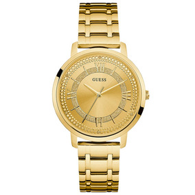 Relogio Guess W0933l2 Ladies Dourado Original