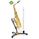 Suporte Sax Alto/tenor E Clarineta/flauta Hercules 8304