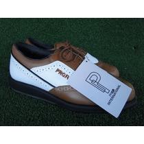 Sapato Prgr International P/ Golf Tam Div Fem Novo Golfe