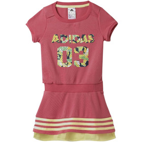 Vestido Atletico Training Rock It Para Niña adidas Ab3624