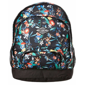 Mochila Billabong Black Nite Backpack Mujer