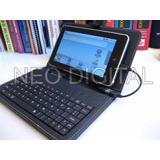 Funda Teclado Para Tablet Pc Notebook Android 7