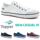 20% Off Tênis Topper New Casual Iv Futsal Capoeira