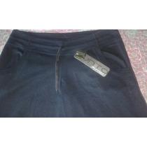 Pantalon Algodon Capri Negro Marca Punto Uno Talle 4. Nuevo!
