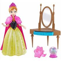 Boneca Ana Anna Frozen Magiclip Disney Mattel