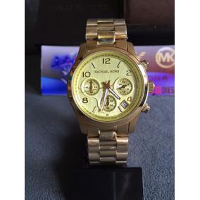 b9592beea0233 Michael Kors Mk5055 Gold Original - Relógios De Pulso no Mercado ...
