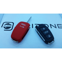 Funda Silicon Llave Audi A1 A3 A4 A5 A6 Q3 Q5 Tt Con Logo