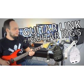 Guitar Link - Drivers Para 64 Bits + Guitar Rig 5 + Brinde!.