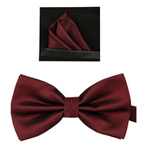 Corbatines Tieworld Formal Color Vino