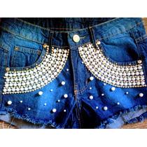 Kit 4 Shorts Jeans Cintura Alta Hot Pants Customizados
