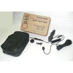 Microfono Corbatero Ophyr Micr-020m Condenser