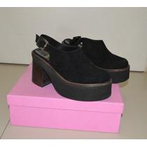 Zapatos Plataformas Mishka Negro Talle 39